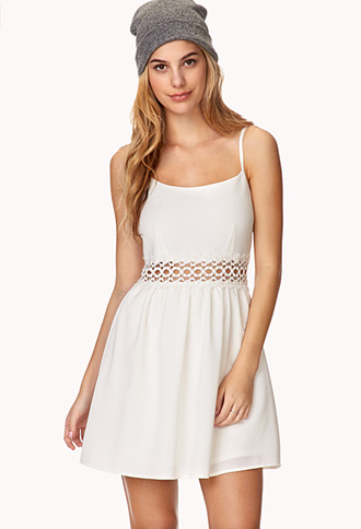 Sweet Lace Dress | FOREVER21 - 2000129496