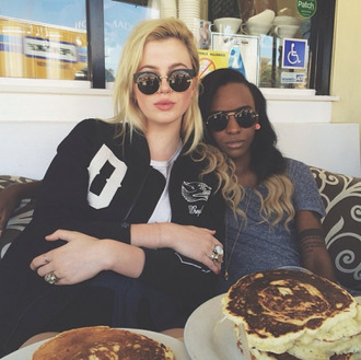 sunglasses sun cats cat eye cat-eye black sunglasses ring jacket pancakes food store