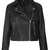 Boxy Leather Biker - Bikers & Bombers - Jackets & Coats  - Clothing - Topshop