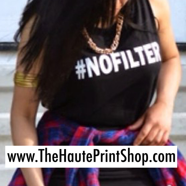 top no filter t-shirt