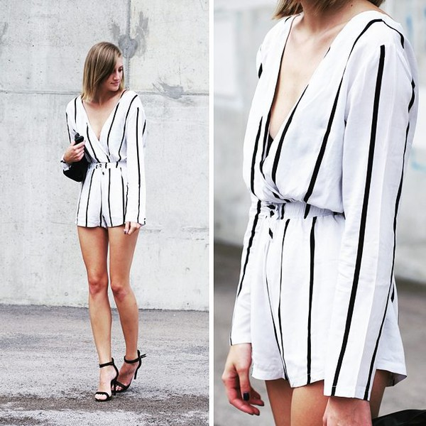 4b5e9c188977 romper sexy rompers womens fashion 2015 fashion girls fashion hot sale 2015 striped  romper romper white.