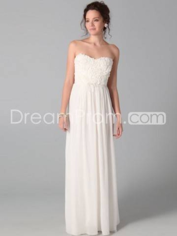 dress white prom dress white ruffles long prom dress simple prom dress prom