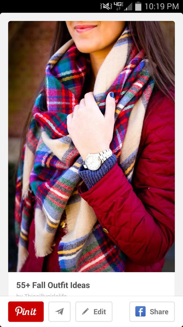 scarf flannel scarf fall scarves winter scarf fall scarf