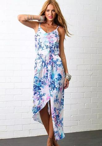 dress print dress beach dress summer dress strapless dress
