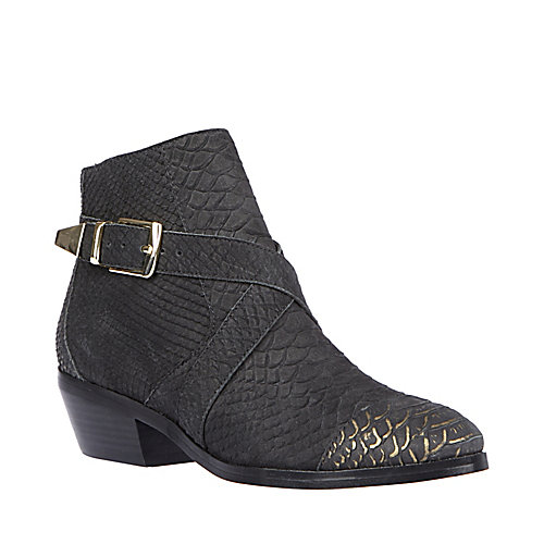 MORTEZA BLACK MULTI women's bootie mid casual - Steve Madden