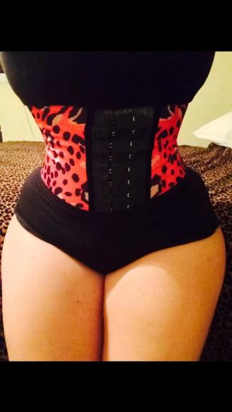 waist underwear waist trainer waist corset'