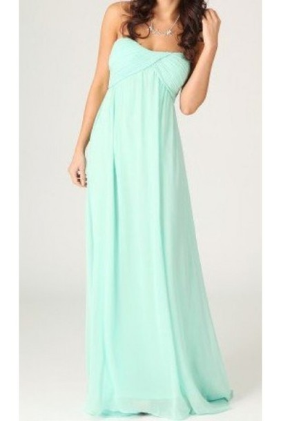 dress escloset fashion dress mint dress maxi dress grecian