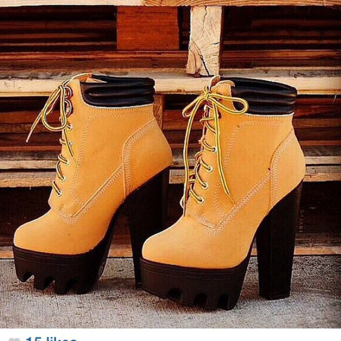 the best high heels timberland wheretoget