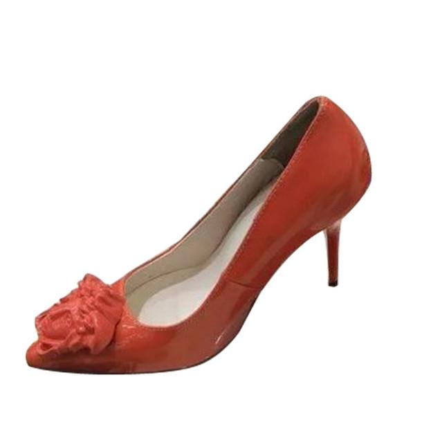 shoes versace patent-leather pumps
