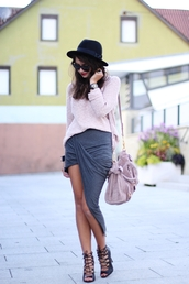 fashionhippieloves,skirt,sweater,hat,shoes,sunglasses,bag,jewels