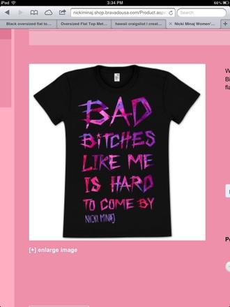 t-shirt nicki minaj