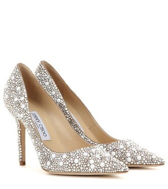 suede pumps embellished pumps suede beige shoes