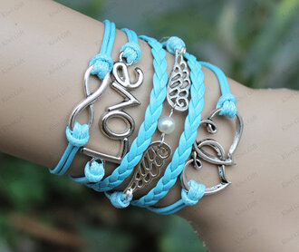 jewels infinity love wings bracelet heart to heart bracelet infinity love bracelet