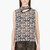 christopher kane black plasma lace cut_out petal blouse