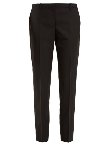 No. 21 wool black pants