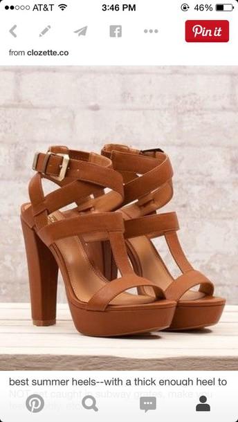 shoes brown high heels high heels summer heel