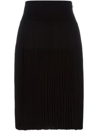 skirt pleated skirt pleated black