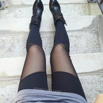 leggings black black leggings mesh mesh leggings mesh cutouts mesh cutout leggings cutout leggings