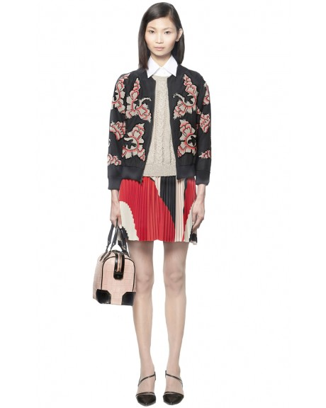 FELISA ZIPPERED JACKET | Alice   Olivia |