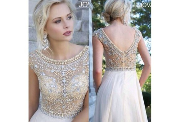 prom party party dress see through evening gow beading bridal