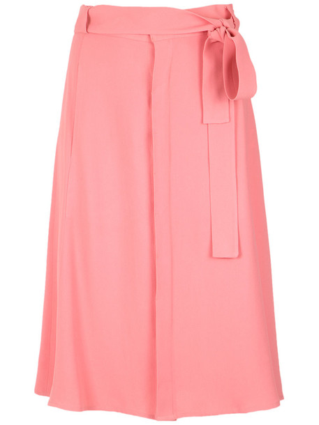 skirt midi skirt women midi yellow orange