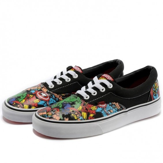 BOOGZEL | Superhero Canvas Shoes