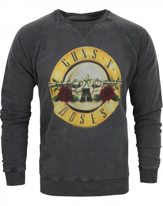 Men's sweater, guns n roses, long sleeve t