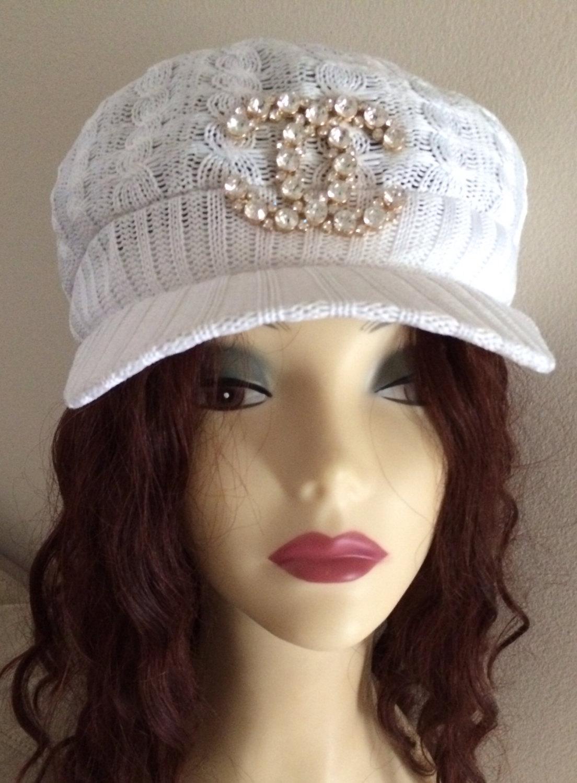 Chanel inspired cap
