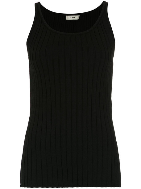 EGREY tank top top women black knit