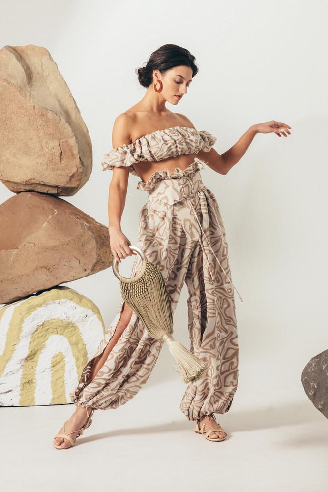 Cult Gaia Lyndi Pant - Sand Multi                                                             $ 598.00 USD