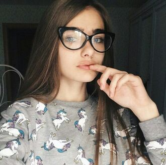 shirt unicorn pretty woman tumblr