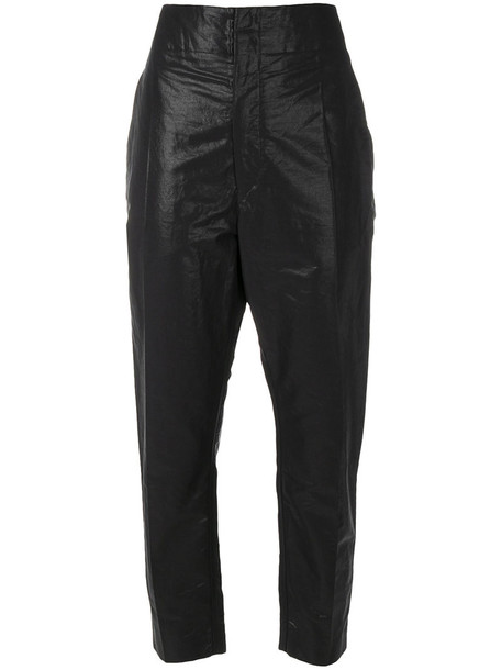 Isabel Marant women cotton black pants