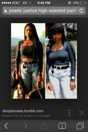 jeans,celebrity,janet jackson,poetic justice,high waisted jeans