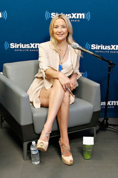 kate hudson shoes shorts jacket
