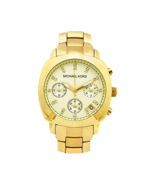 Michael Kors Women's Gold Chronograph Women's Watch | Emprada