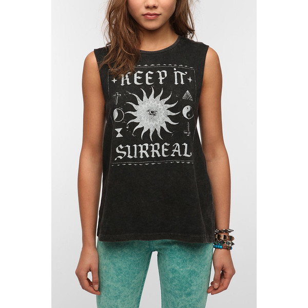 Mont La Roc Mineralized Surreal Muscle Tee - Polyvore