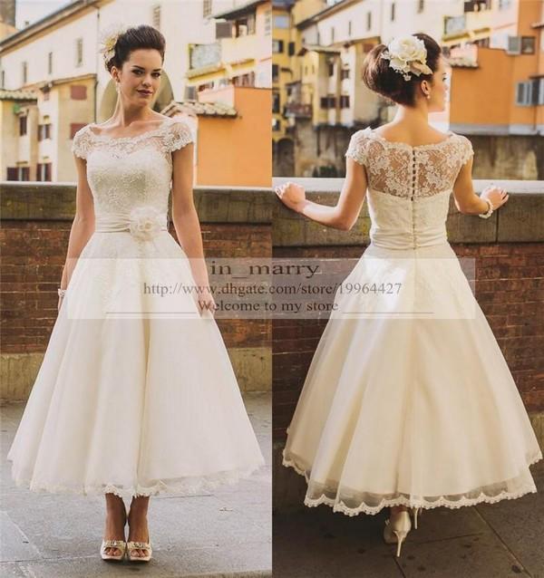 Dress Short Wedding Beach 2016 Dresses Lace