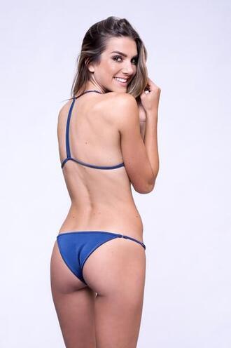 swimwear bikini bottoms blue cheeky dbrie swim bikiniluxe