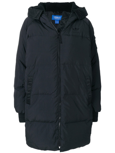 Adidas coat women black