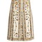 Obsession-print pleated skirt