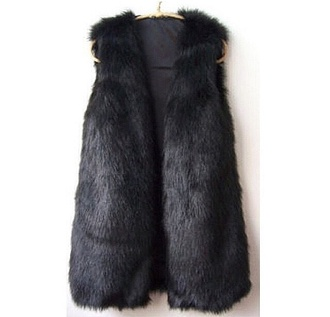 black fur coat fur vest fur jacket winter/autumn autumn coat fall outfits faux fur vest