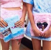 bag,fur clutch,pink fur,barbie,furry pouch