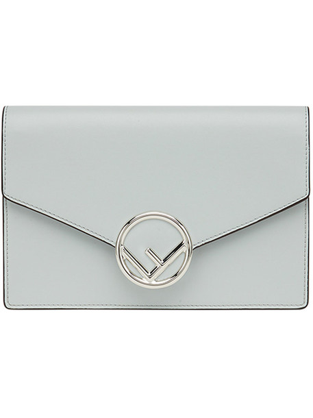 Fendi mini women bag mini bag leather cotton grey
