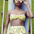 Topshop Lemon Print Bikini, Primark Ice Cream Shades - Teenie, weenie, yellow lemon-print bikini - Natasha  N | LOOKBOOK