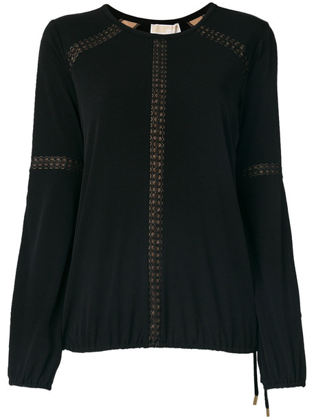 MICHAEL Michael Kors top knitted top women classic spandex black