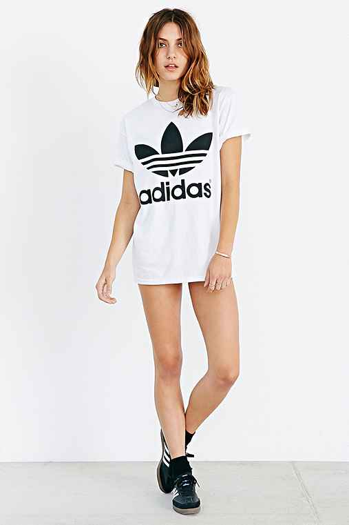 Adidas Originals Double Logo Tee Urban Outfitters