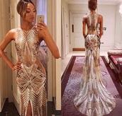dress,gold dress,beautiful,sexy,long dress,metallic,slit dress,slit