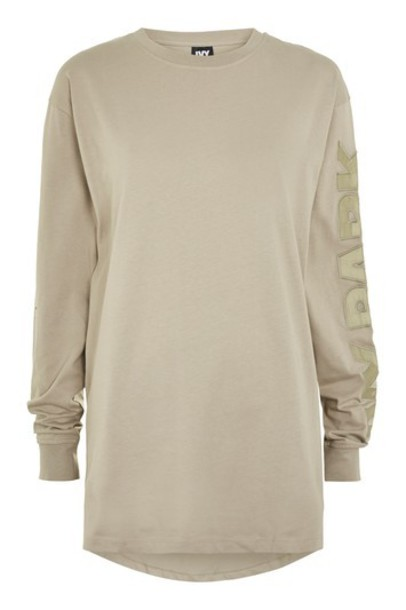 Topshop t-shirt shirt t-shirt boyfriend green satin top