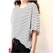 shirt,top,striped top,striped shirt,stripes,baggy shirt