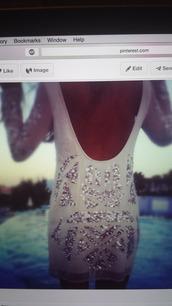 winter white,sheer,sheer sleeves,glitter dress,open back dresses,dress